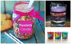 Creative DIY Candles For The Crafter In Your Family - Decorating Ideas for the home Cute Crafts, Crafts To Do, Diy Crafts, Fall Projects, Craft Projects, Project Ideas, Diy Candles Scented, Sweet Sixteen Parties, Candle Craft