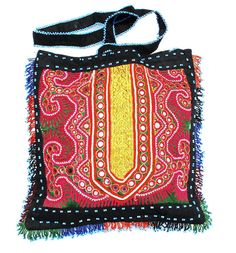 Vintage Tribal Bag from Afghanistan with Pashtun by oldsilkroute, $25,00