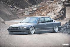 BMW 740il. #bmw #auto #automotive #carbonpixels #cars #follow #jdm #lowcar #lowlife #stance #tuning