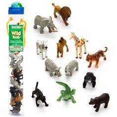 Safari - Wild Toob Miniature Collectables