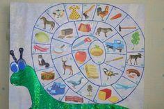 Дидактическая игра «Занимательная улитка» для развития речи детей дошкольного возраста.