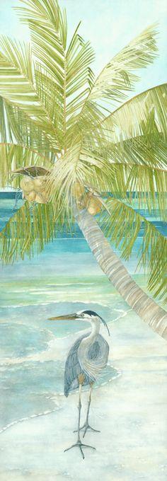 Heron on the Beach