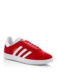 Adidas Gazelle Lace Up Sneakers