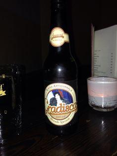 Italian beer @ italian bar in vienna