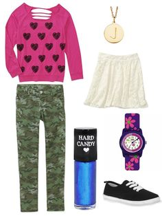 Get Jamie's high-kicking look from Dear Dumb Diary with the following pieces from Walmart.