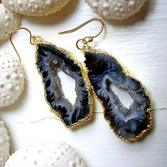 Theres just something about druzy jewelry. http://moncler-online-shop.blogspot.com/  moncler clothing,