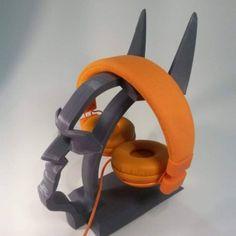 3D Printable Batman Headset Stand  by Fasya Daud