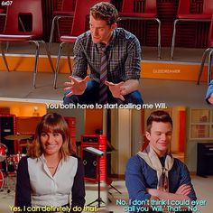 "#Glee 6x07 ""Transitioning"" - Will, Rachel and Kurt"