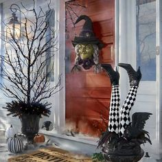 Pre-lit Corner Spiderweb, Set of Two Halloween Porch, Outdoor Halloween, Halloween 2020, Holidays Halloween, Halloween Kitchen, Halloween Wreaths, Hallowen Ideas, Diy Halloween Decorations, Halloween Crafts