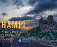 Hampi Photography Tour January 2018. Book Now http://ift.tt/2DTGpKq  #phototour #hampi #jan2018 #plantheunplanned #binoygeorgephotography #bangaloreweekends