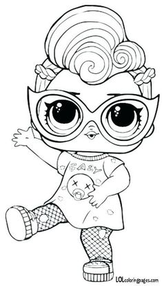 doll coloring pages online find this pin and more on by to print dolls unicorn idea pa lol surprise mor Unicorn Coloring Pages, Cute Coloring Pages, Coloring Pages For Girls, Disney Coloring Pages, Coloring Pages To Print, Coloring For Kids, Printable Coloring Pages, Coloring Sheets, Coloring Books