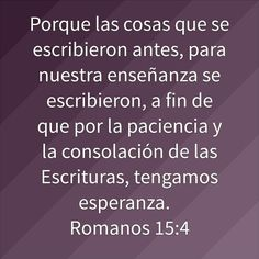 Romanos 15:4