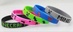 5 pieces #Minecraft Minecraft Creeper silicone band bracelet! (japan import)