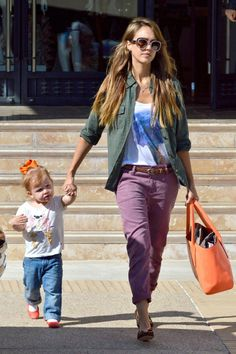 Jessica Alba and Haven are Shopping Pals