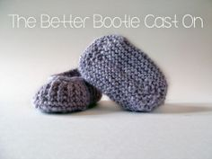 The Better Bootie Cast On Tutorial | Pumpkin & Bunny