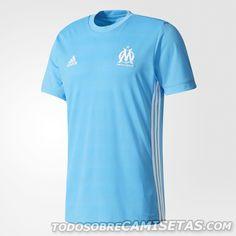 Olympique Marseille 2017-18 adidas Kits