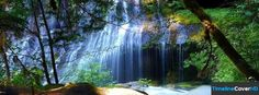 Waterfall Timeline Cover 850x315 Facebook Covers - Timeline Cover HD