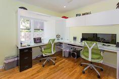 Ergonomic Sayl chair in green [Design: GB Group Construction]