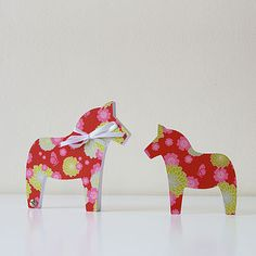 Dala Horse – Note Pad by maplepaper