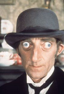 """I am too old to die young, and too young to grow up,"" he told a reporter -- a week before he died. This beloved comedian, who poked fun at himself as well as others, was born Marty Feldman, on July 8, 1933, in London, England. The son of immigrants from Kiev, Marty spent his childhood in the poverty-stricken London East End and left school at the age of 15"