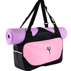 Lightweight Have An Inquiring Mind Gym Yoga Mat Carrier Bag With Adjustable Strap Gym Sport Fitness Backpack High-capacity