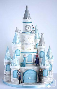 Castillo elsa frozen