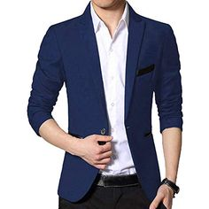 bbed9d355533 Homme Veste De Costume Casual Business Blazer Manteau Blousons Slim Fit   blazers  blazersschedule