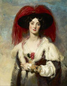 Thomas Lawrence - Lady Julia Peel, 1827   (4726×6013)