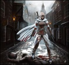 Les plus beaux fan arts d'Assassin's Creed au féminin - Andy Fairhurst