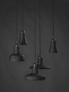 Les suspensions de S.Bensimon, pour la collection « Shadows » de la marque Brokis |MilK decoration