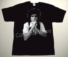 ROLLING STONES Keith Richards drawing 18 CUSTOM ART UNIQUE T-SHIRT Each T-shirt is individually hand-painted, a true and unique work of art indeed!  To order this, or design your own custom T-shirt, please contact us at info@collectorware.com, or visit http://www.collectorware.com/tees-Stones_andrelated.htm
