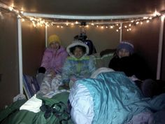 These kids are amazing. Nearly 50 straight nights of sleeping outside in a cardboard box to raise funds for the homeless. This is a story I wrote last year, but the Sewald-Hester family is up to it again this year!    http://givemn.razoo.com/story/Sewald-Kids-Sleep-Out?fb_ref=YNtSA0DRa_code=share    The three girls – Debra (11), Danielle (9) and Savanah (3) – ha