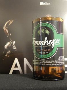 These would make awesome glasses!!///Cool gift for a Hanson fan - soy MMMBop bottle candle!