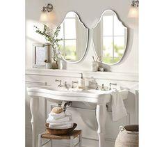 Cute Mirror for Cooper's bathroom | Piper Frameless Mirrors | Pottery Barn