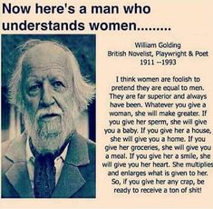 Wise words from William golding Great Quotes, Quotes To Live By, Me Quotes, Funny Quotes, Inspirational Quotes, Qoutes, Motivational, Brainy Quotes, Funny Memes