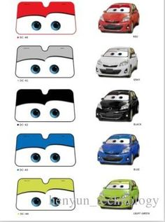 Hot Sale New Big Eyes Pixar Cars Lightning Front Car Windshield Sun Shade Sunshade Cars Sunshade For Car From Henyun_technology, $14.24| Dhgate.Com