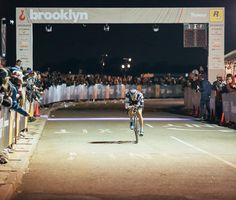 Fueled by the cheers of the crowd @colinatx rides solo to victory at @redhookcrit Brooklyn. Can't wait to see Colin and @aldo_ino_ilesic of Team Allez Allez on July 9th for #RedHookCrit London. #rhcbk9 #iamspecialized by iamspecialized