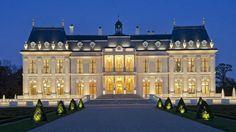 Chateau Louis XIV - Louveciennes - the chateau near Paris is world's most expensive home Mega Mansions, Mansions Homes, Luxury Mansions, Chateau Louis, Dream Mansion, Dream Houses, Rich Home, Dream House Interior, Modern Mansion