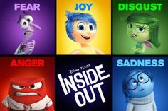 Inside Out the Movie - an opportunity to discuss emotions with older children