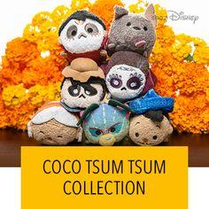 Tsum Tsum Coco Tsum Tsum Party, Disney Tsum Tsum, Disney Pixar, Figurine Disney, Disney Store Toys, Disney Love, Disney Stuff, Tsum Tsums, Bag Pins