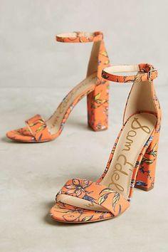 72261b278de9e Sam Edelman Yaro Heeled Sandals Block Heel Sandals