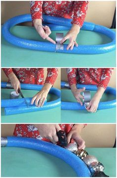 Here's why people without pools are buying up pool noodles this week