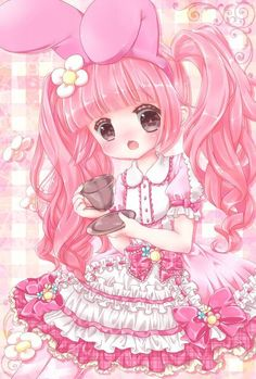 "Cute Vintage Toys: Kawaii Pastel Fairy Kei - pastel-pixieland: Use Coupon ""PIXIE"" at. Art Kawaii, Loli Kawaii, Kawaii Chibi, Kawaii Anime Girl, Anime Plus, Lolis Anime, Cute Anime Chibi, Anime Art, Anime Girl Drawings"