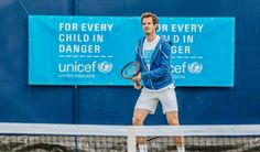 Top 8 tennis playerso playing for unicef Andy Murray, United Kingdom, White Shorts, Tennis, The Unit, Children, Tops, Women, Fashion
