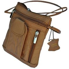 Buy Unisex Genuine Leather On-the-Go Cross-Body by AFONiE on OpenSky
