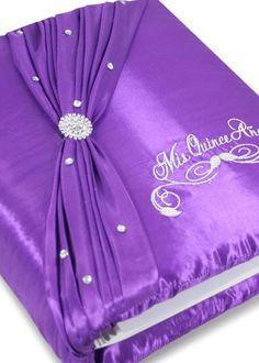 Quinceanera Photo Album Guest Book Kneeling Tiara Pillows Bible Q3022 Visit us online at www.trendyparadise.com