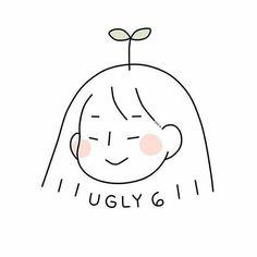 Cute Little Drawings, Cute Kawaii Drawings, Aesthetic Drawing, Aesthetic Art, Korean Aesthetic, Doodle Drawings, Easy Drawings, Arte Indie, Arte Fashion