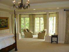 Peaceful master bedroom retreat