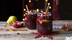Ho, Ho, Hold Up?! Christmas Sangria Recipe