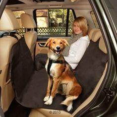 Manta de coche para perros (se puede separar en mitades)
